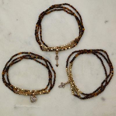 Triple Bracelet - Heart