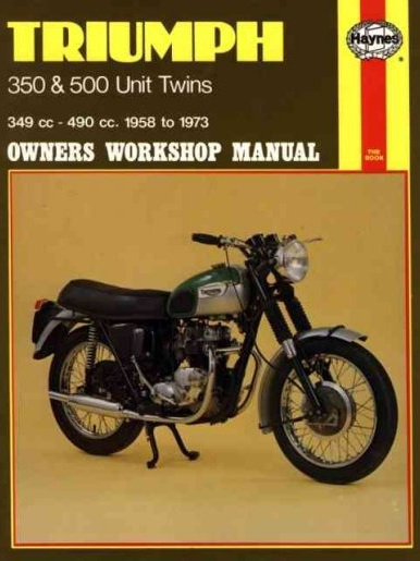 Triumph 350, 500 Twins Workshop Manual