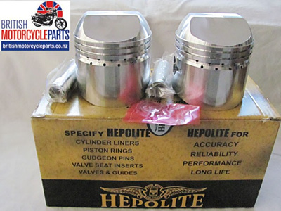 18786 Triumph 500cc Pistons & Ring Sets - 1968-74