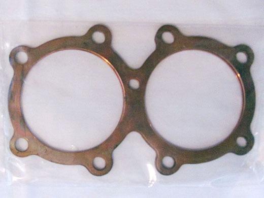 Triumph 650cc Cylinder Head Gasket - Solid Copper
