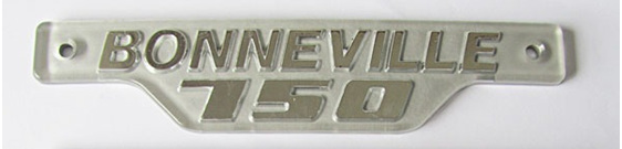 Triumph Bonneville 750 Side Cover Badge 1979 onwards 83-7232