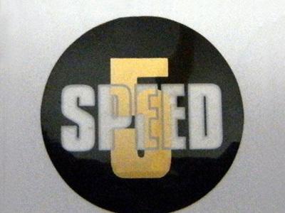 60-3748 5 Speed Sticker