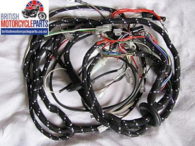 T140 TR7 Wiring Loom 1976-78 - 19-1962 54962258