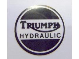 60-4156 Triumph Hydraulic Caliper Cover Decal