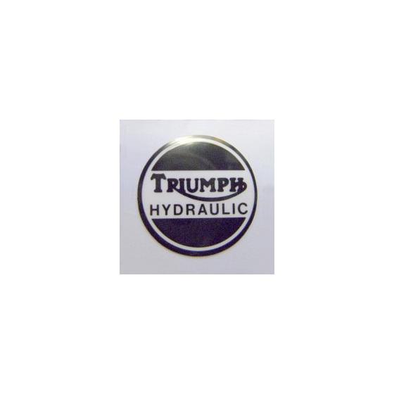 Triumph Hydraulic Caliper Cover Sticker