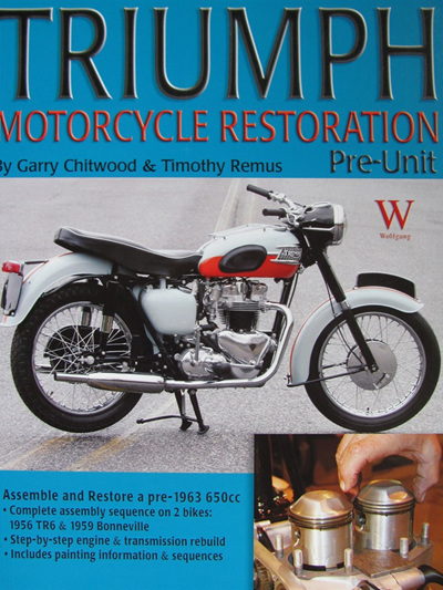 Triumph Motorcycle Restoration Pre-Unit