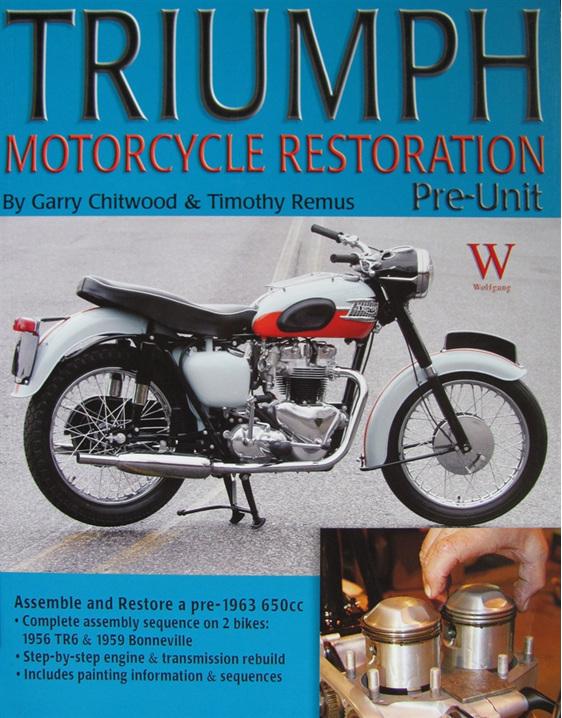 Triumph Motorcycle Restoration Pre-Unit