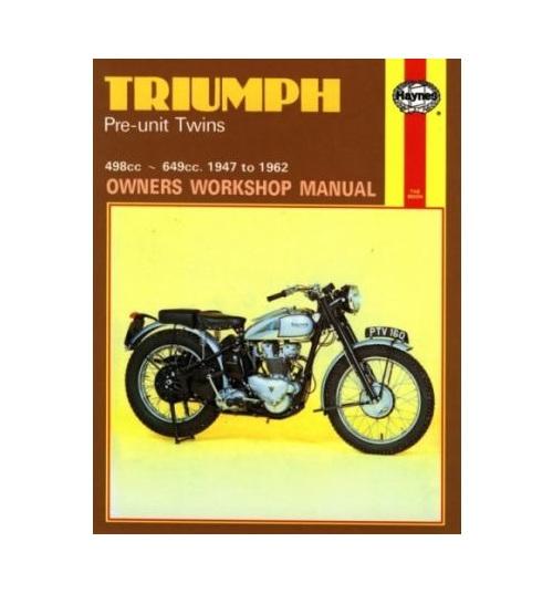 triumph pre unit twins workshop manual british triumph bonneville owner's manual triumph owners manual pdf
