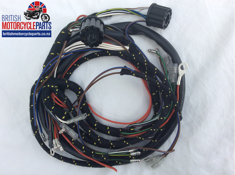 Triumph T120/TR6/T100/T90 Wiring Loom - British motorcycle Parts - Auckland NZ