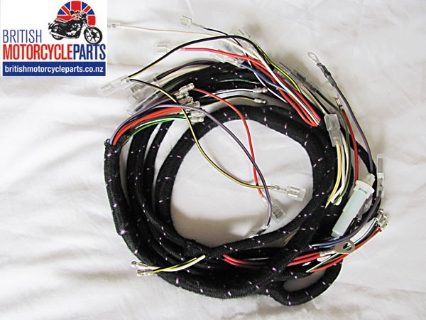 Triumph T120 / TR6 Wiring Loom 1971 to 1973 OIF Models