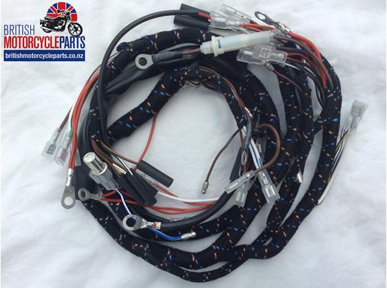 Triumph T150 Trident Wiring Loom - 54955732 - 60-2124 - British motorcycle Parts