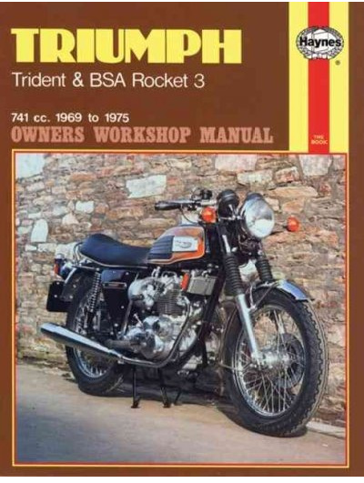 Triumph Trident, BSA Rocket 3 Workshop Manual