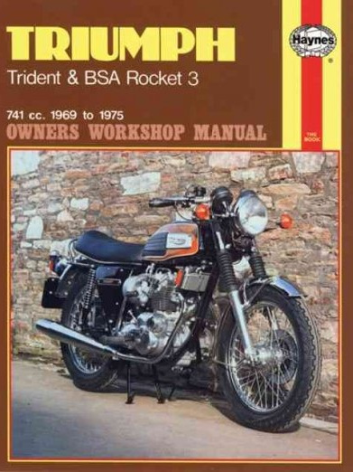 Triumph Trident, BSA Rocket 3 Workshop Manual