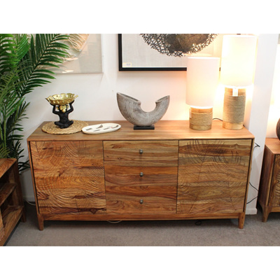 Tropics 2Door/3Drawer Sideboard - Sheesham Wood