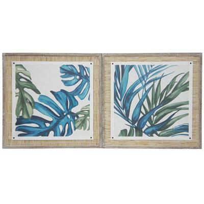 Tropics Art 73x73cmh