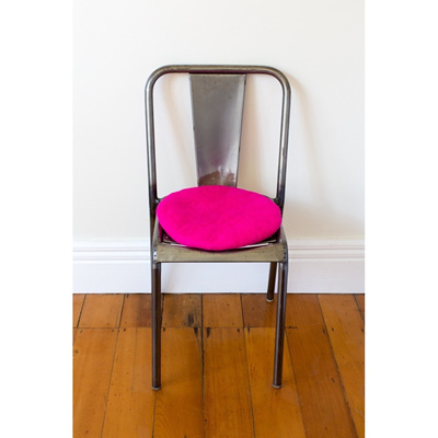 Tush Cush Wool Cushion - Fuschia Pink