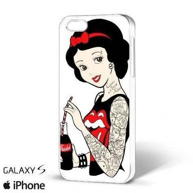 Twisted Rockabilly Snow White Phone Case