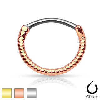 Twisted Rope Septum Clicker