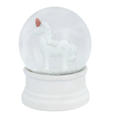 Unicorn Water Snow Globe