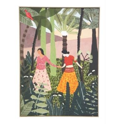 United Print - Natural Frame - 100x140cm