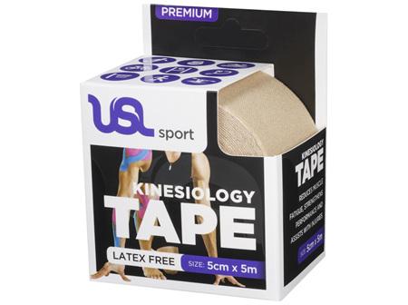 USL Premium Kinesiology Tex Tape Beige 5cm x 5m