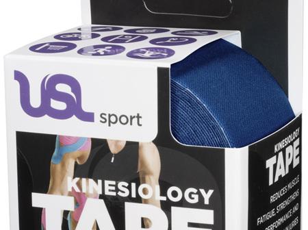 USL Premium Kinesiology Tex Tape Blue 5cm x 5m