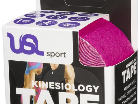 USL Premium Kinesiology Tex Tape Pink 5cm x 5m