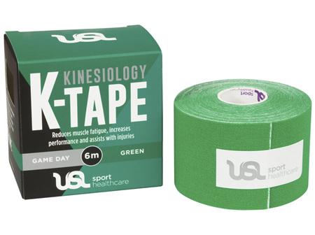 USL Sport Game Day K Tape 5cm x 6m Green