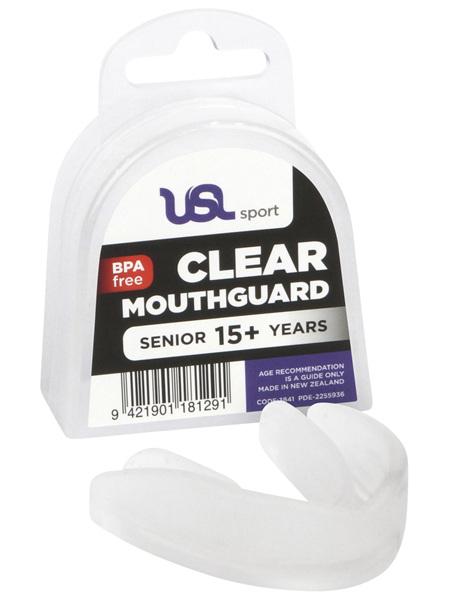 USL Sport Mouthguard Senior Clear