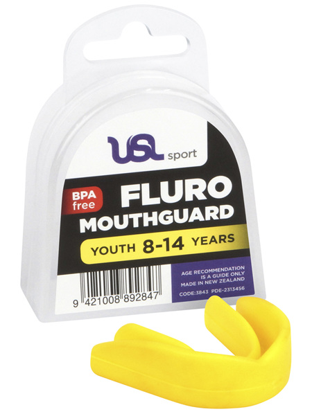 USL Sport Mouthguard Youth Fluro