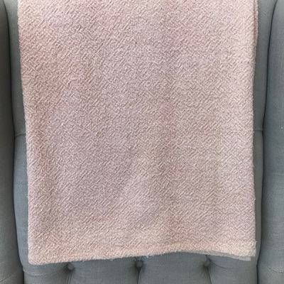 Vanya Slub Cotton Throw - Peach
