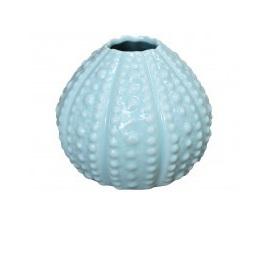 Vase Urchin Dot Seafoam