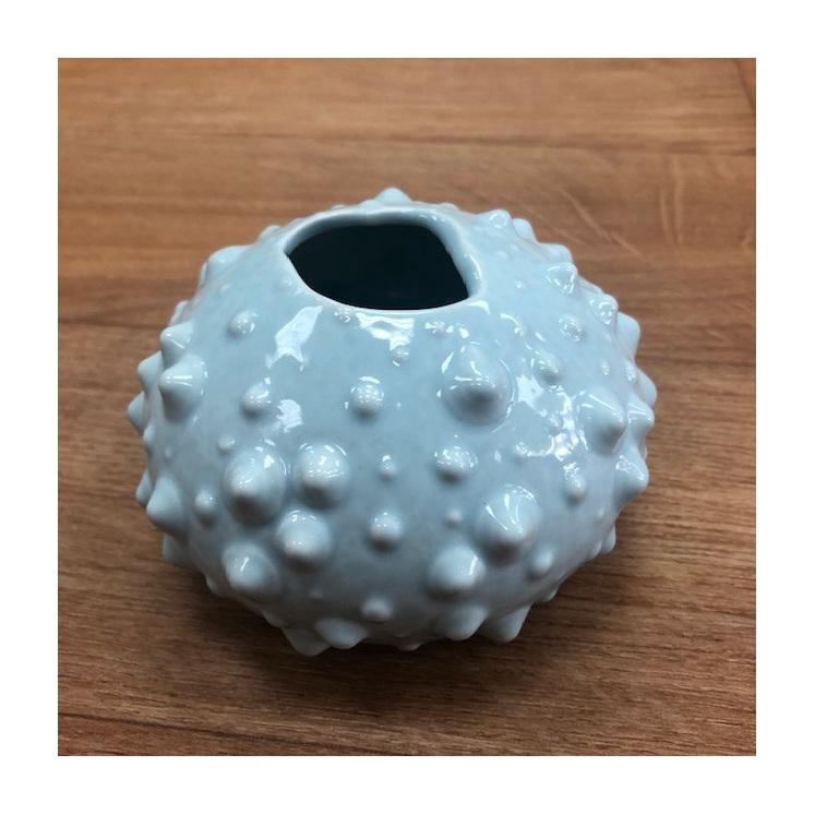 Vase Urchin Point Seafoam