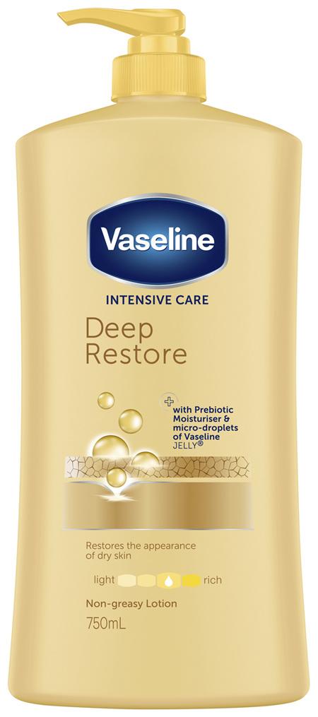 Vaseline Body Lotion Deep Restore 750mL
