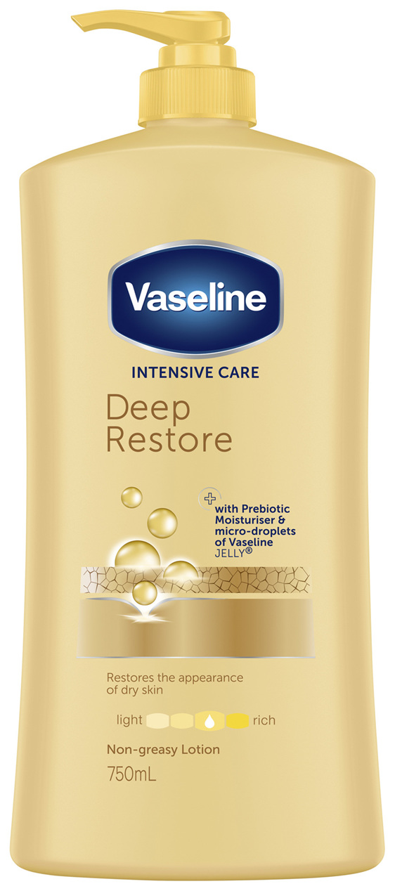 Vaseline Body Lotion Deep Restore 750mL