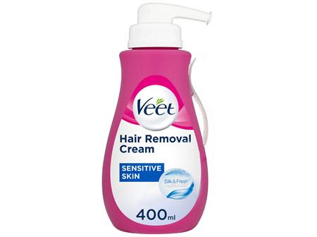 Veet Pure Hair Removal Cream Legs and Body Sensitive Skin 400mL