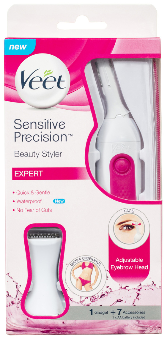 Veet Sensitive Precision Beauty Styler Hair Trimmer