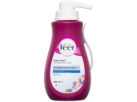 Veet Silky Fresh Hair Removal Cream 400mL