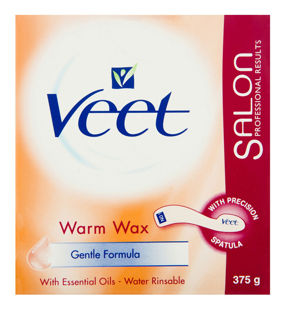 Veet Warm Wax Hair Removal 375g