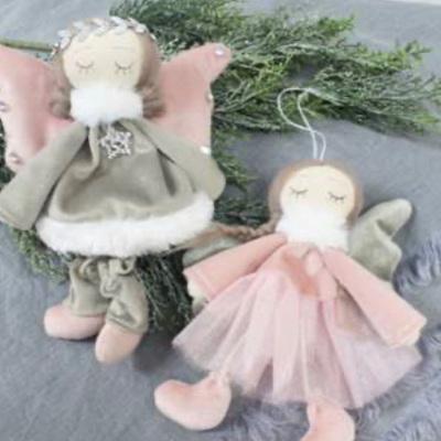 Velvet Hanging Angel