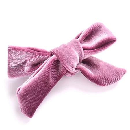 Velvety Hair Bow