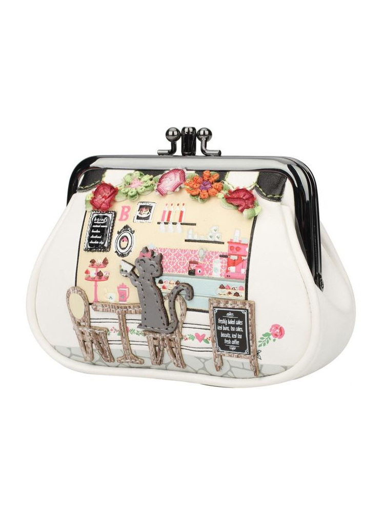 Vendula Biscuit Shop Clipper Coin Purse