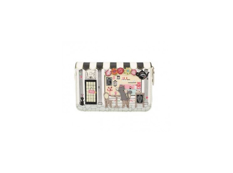 Vendula Biscuit shop Zip Around Wallet