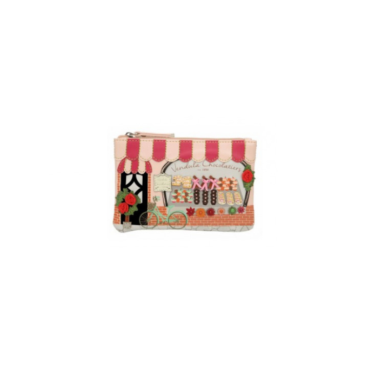 Vendula Chocolatiers Zip Coin Purse