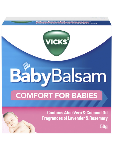 Vicks BabyBalsam Decongestant Rub 50g