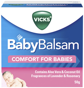 Vicks BabyBalsam Decongestant Rub 50g