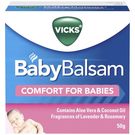 Vicks BabyBalsam Rub 50g