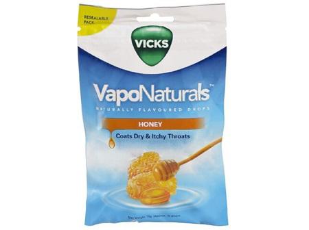 Vicks VapoNaturals Drops - Honey (approx 19 Drops)