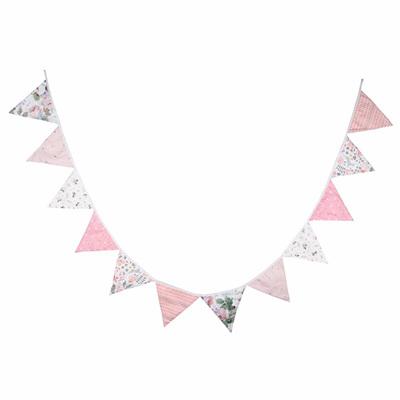 Vintage Bunting - Peachy Pink