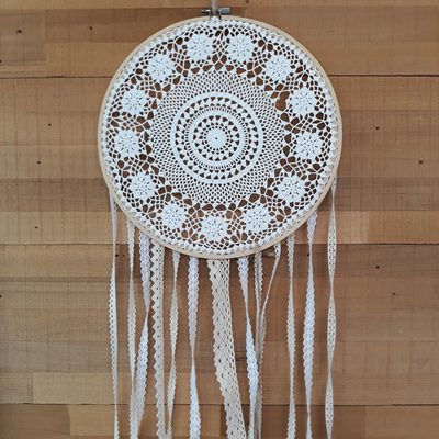 Vintage Lace Dream Catcher - Izzy